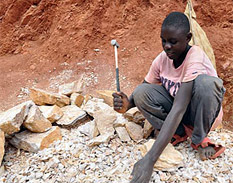El uso de niños como trabajadores domésticos se ha generalizado en Haití