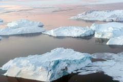 Deshielos debido al calentamiento global (Foto UN)