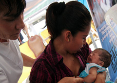 Mortalidad materna tarea pendiente (Foto PAHO)
