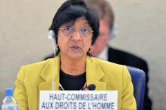 Navi Pillay, Alta Comisionada (Foto UN)