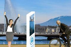 Celebración en Ginebra del Día del Medio Ambiente.