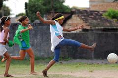 Proteger la infancia a través del fútbol (Foto UN)