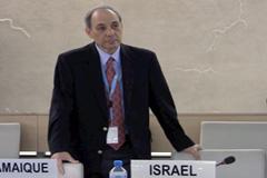 El delegado de Israel perplejo por decisión (SL)