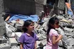 Escuela de la ONU destruida en Gaza (foto UN)