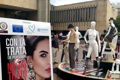 Campaña contra la trata en Colombia (FOTO UNDC)