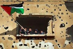 Escuela palestina en Gaza (Foto TS)