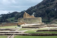Turismo en Ingapirca, Ecuador (Foto Chandi)