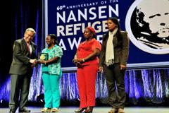 Ceremonia del Premio Nansen (Foto HCR)