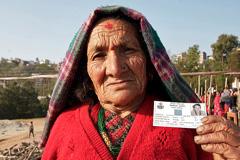 Mujeres de edad sin pensiones (Foto UN)