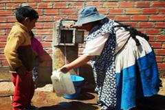 La escasez de agua estigma de la pobreza (F.WB)