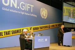 Reunión de UNODC contra la trata de personas