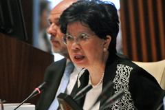 Margaret Cha, directora general de la OMS (UN)