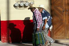 Jubilados mexicanos con bajas pensiones (Foto WB)