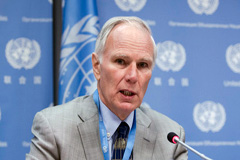 Philip Alston, Relator de la ONU (Foto UN)