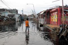 El paso del tifón Hayan en Filipinas (IOM)