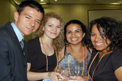 Laureados en cumbre latinoamericana (YTVB)
