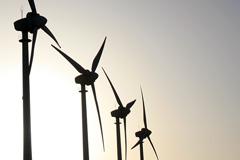 Fuentes de energía eólica (UNEP)