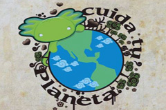 El Planeta, logo de Pepe Barea.