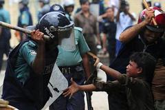 Violencia policial contra niños (LDD)