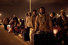 Refugiados socorridos por la OIM (Iom)