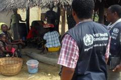 La lucha contra el ébola en Africa (WHO)