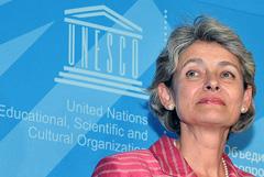 Irina Bokova directora general de la UNESCO.