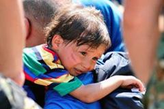 Una cuarta de refugiados son niños (UN)