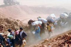 Personas que huyen la guerra en Siria (HCR)