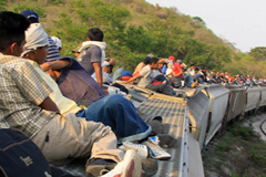 Emigrantes centroamericanos rumbo a EE.UU (UN)
