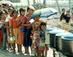 Niños con hambre