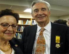 Henri Stierlin y esposa
