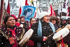 Protesta indígena - Foto LDD