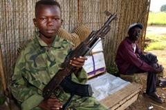 Niño soldado (Foto Amnistía Internacional)