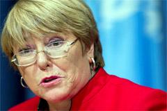 Michelle Bachelet (Foto UN/ M.Garten