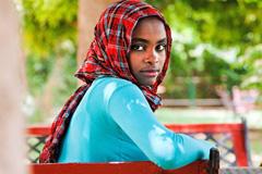 Niña de Sudán (Foto UN/ AGS)