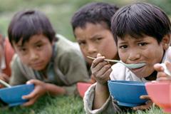 "Una ""dieta"" escolar (Foto WB/J.Martin)"