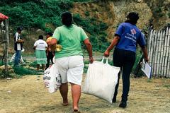 Migrantes forzosos (Foto FICR)
