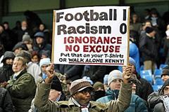 Contra el racismo (Foto LDD)