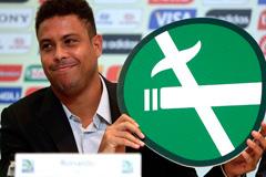 Ronaldo: no al tabaco (LDD)