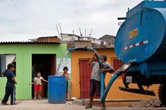 Distribución de agua (Foto BM/