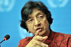 Navi Pillay (Foto UN/ J.M. Ferré)