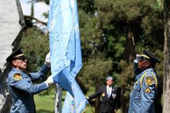 Ceremonia en el Palacio de las Naciones (Foto UN/ P. Alboy)