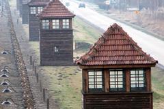 Valla y torres de control de Auschwitz (Foto LDD)