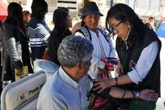 Asistencia callejera de salud (Foto PAHO)