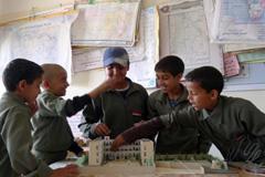 Ex niños soldados de Yemen (Foto Unicef)