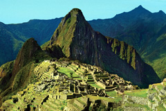 Machu-Pichu, fuerte turístico en Perú (Foto OMT)