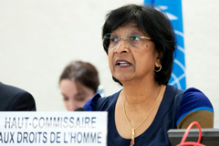 Navi Pillay (Foto UN/ Ferré)