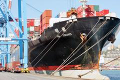 Buque mercante chino (Foto ILO)
