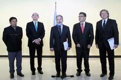 Cancilleres del MERCOSUR en la ONU (Foto UN)