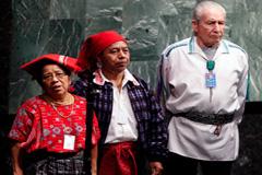 Dirigentes indígenas en la ONU (Foto UN)